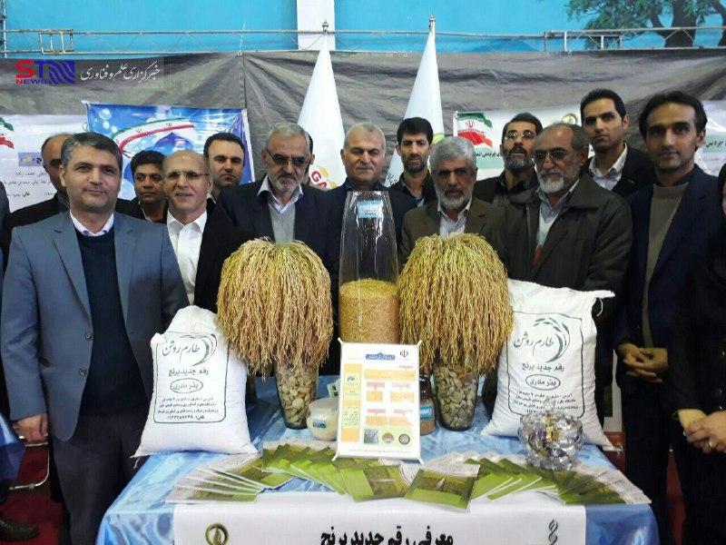 تامین آب اراضی شالیزاری یکی از مهمترین موضوعات نمایشگاه علمی- تخصصی برنج در مازندران