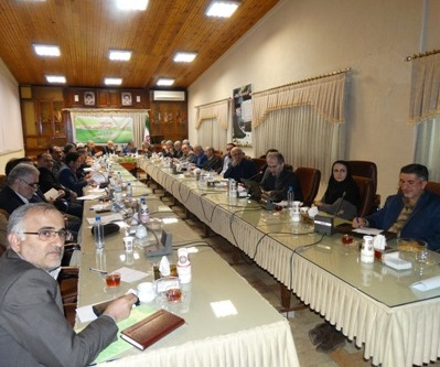 الزامات زیست محیطی صنایع در بخش آب، در نهمین جلسه شورای حفاظت منابع آب استان مازندران مورد بررسی قرار گرفت